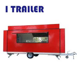 O Restaurante Itrailer Fv-55 Mobile comida de fibra de Venda Directa para reboque de caravana Padrão no Médio Oriente