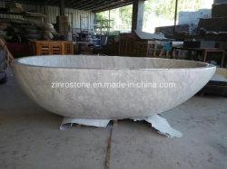Natürliche ovale Badewanne für Hotel-/Ausgangsbadezimmer