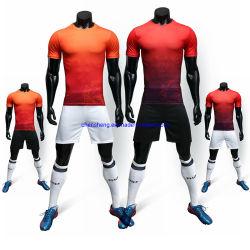 La formation Soccer Jersey Quick Dry Mettre en place de la SUBLIMATION Maillot de football d'impression numérique de l'usure de Soccer sportives