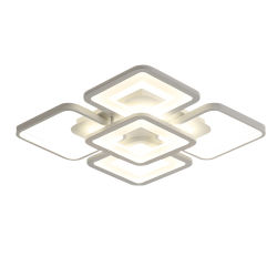 Lampada quadrata moderna del soffitto del supporto LED di rossoreare dell'acrilico Jlc-Lcc09 per il salone