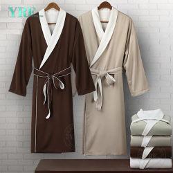 BaumwollLuxushotel-Velour-Kimono-Bademantel des Guangzhou-Foshan Großverkauf-100 für Yrf