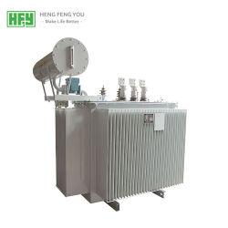 Energiesparender kupferner ölgeschützter elektrischer Strom-Verteilungs-Transformator der Wicklungs-10kv 35kv für Solarprojekt