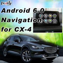 Plug&Plug Android 6.0 Navigation GPS pour 2014-2018 voiture Mazda CX-4 CX-5 MX-5 CX-9 2 3 6 avec Google Map Yandex etc.
