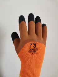 Bequeme Breathable haltbare schützende Industriearbeiter-oder Arbeits-Sicherheits-Arbeits-Handschuh verwendete Nylon-oder Baumwollmaterialien