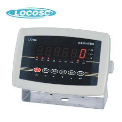Faible consommation électrique en plastique avec rétroéclairage LED/LCD Instrument de pesage indicateur