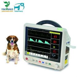 Yspm500V Veterinaire Monitor van de Monitor van 12.1 Duim van het Ziekenhuis de Draagbare Dierlijke Geduldige