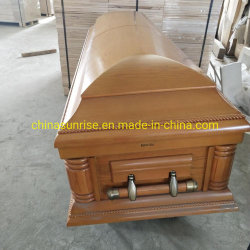 Cercueil en bois pour l'Europe & Marché américain