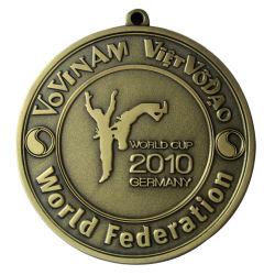 昇進の顧客用青銅色のドイツのワールドカップの金属メダル(090)