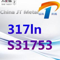 317ln S31753のステンレス鋼棒版の管、最もよい価格、中国製