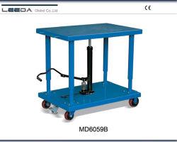 2700kg grupo hidráulico Colunas Tabelas com 610x915mm tamanho de mesa MD6059A