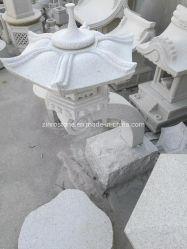Estilo Janpanese Barato Lanterna de granito da lâmpada de Pedra Natural paisagem de Jardim