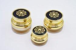 Круглый акриловый косметический кувшин блендера, Пластмассовые поверхности крем кувшин блендера