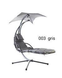 Alta qualidade de Ajuste de giro para piscina móveis de jardim Beach com estrutura metálica, cadeira de balanço