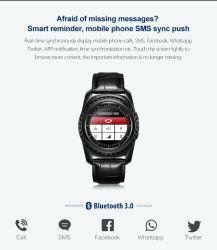 Einheit-Sport-intelligentes Telefon Bluetooth GPS der Logistik-Tq912 tragbares Handgelenk-Geschenk-intelligente Uhr