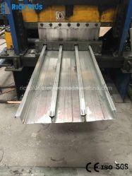 صفائح أرضية معدنية ذات قوة عالية ذات تشكيل بارد مجعدة من الفولاذ صفائح سطح معدنية للسطح