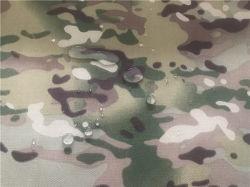 Tecido Cordura Nylon Multicam Camouflage impresso à prova de revestimento de PU