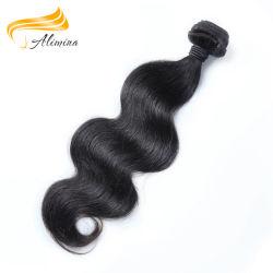 Moda e populares para senhora cutícula completa de extensões de cabelo humano
