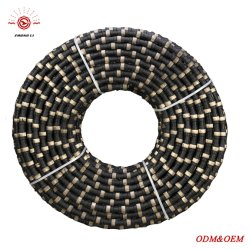 10.5mm cable de diamantes de Sierra para cortar acero concreto