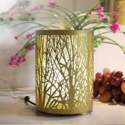 鉄の金属の香りの拡散器現代100ml表の拡散器LEDの軽い家の装飾