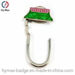 熱い販売のFoldable金属のハンドバッグのホックの財布袋のハンガー
