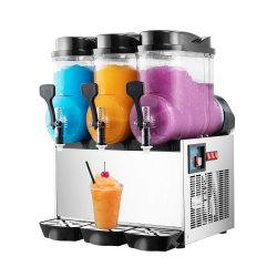 ثلاثة أوعية تصنع المشروبات الكحولية آلة الثلج