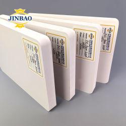 جينباو 12X12 حجم 2 مم 3مم 5 مم خدمة قص مزدوجة لوح من الفلين PVC أبيض الطبقة مع مصباح LED