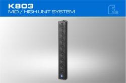 Professional Pro Audio Altavoz pequeño sistema de audio de altavoces de columna