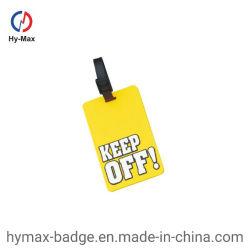 Дешевые заводской оптовой пользовательские моды резиновые/пластиковый мешок для поездки в самолете имя тега тег индекса для багажа авиакомпании Деловые подарки