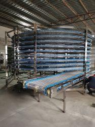 La Chine fournisseur pain hamburger Toast permanent de plancher en spirale de la tour de refroidissement