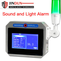 자동 경보를 가진 디지털 IR 온도계 온도 안전 탐지