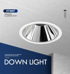 Usine de l'aluminium IP2015W Spot LED spotlight l'éclairage commercialvers le bas de plafondlumièrelampe COB Downlight