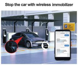 4G вилку GPS играть Obdii Tracker сигнал прицепа читать средняя скорость движения автомобиля Tracker (ТК428-KH)