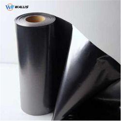 Noir brillant de feuilles de PVC en plastique rigide pour plaquette thermoformée d'emballage ou les boîtes d'affichage
