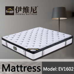 China Muebles de Dormitorio colchones Juego de cama de hotel antiguo
