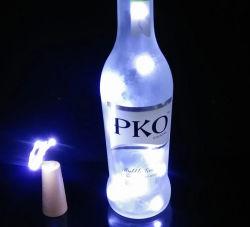 La decoración del partido en casa Noche de Luz LED el tope de la botella con las velas
