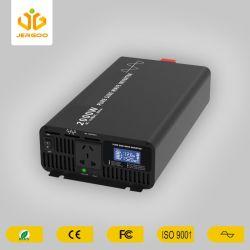 2000W USB 5V 12V AC a DC verdadero inversor solar de onda sinusoidal