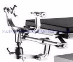 Fonctionnement de l'hôpital de haute qualité équipement de salle multifonctionnelle en acier inoxydable de lit d'exploitation dispositif de traction orthopédique Châssis réglable