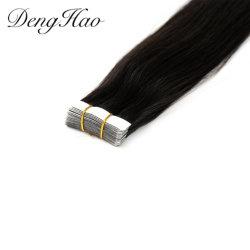 Factory Prezzo Tape estensioni per capelli indiano Remy nastro di estensione per capelli
