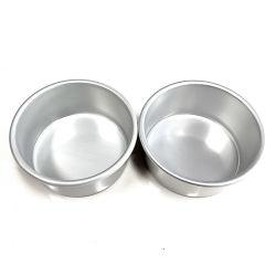 Alliage d'aluminium de 6 pouces de moule à gâteau de cuisson ronde bas Highwall fixe Gâteau Jiangsu professionnel de cuisine