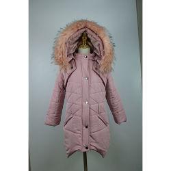 ガールダウンジャケットコート、高品質スタンダードファクトリーダイレクト 販売サポート OEM