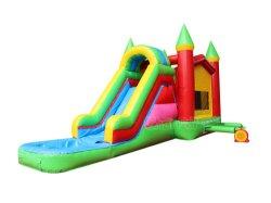 Piccolo Castello gonfiabile acqua Combo Bouncy Castello Bouncer Jumper gonfiabile Combo gonfiabile