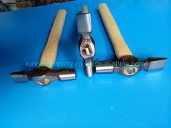 Maschinist-Kreuz Pein Hammer der Energien-und Handhilfsmittel-25mm mit Schlag-Verkleinerungs-Griff für Metallherstellung