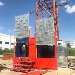Sc100g compartimento duplo de Conversão de freqüência do Guindaste de construção