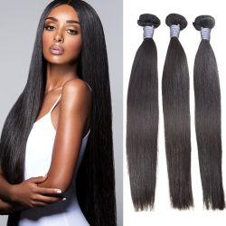 I capelli brasiliani grezzi di Remy del rifornimento della fabbrica di Angelbella impacchettano i capelli umani del Virgin brasiliano naturale di 100%