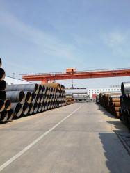 ASTM A252 S355JR Tuyaux en acier soudé en spirale pour Pipeline d'huile