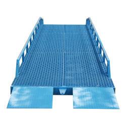 CE Qiyun ISO approuvé de 6 tonnes de charge triage mobile rampe pour chariot élévateur à fourche de chargement du conteneur d'utilisation de la rampe de chargement du conteneur de marchandises