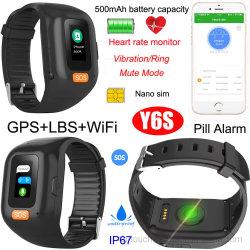 Heart Rate Monitor Y6sの大きいBattery Capacity GPS Bracelet