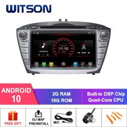 Android Quad-Core Witson 10 aluguer de DVD para a Hyundai IX35/Tucson construído em função OBD