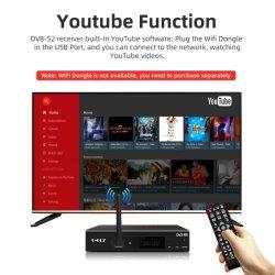 Melhor receptor de TV digital via satélite Professional DVB-S2 Caixa USB do sintonizador de TV