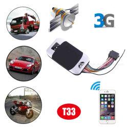 운동 경보 T33로 추적하는 공장 GPS 추적자 3G WCDMA 차량 차